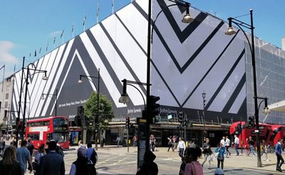 john lewis building wrap oxford street