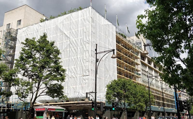 john lewis building wrap oxford street
