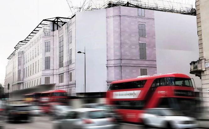 grosvenor place building wrap