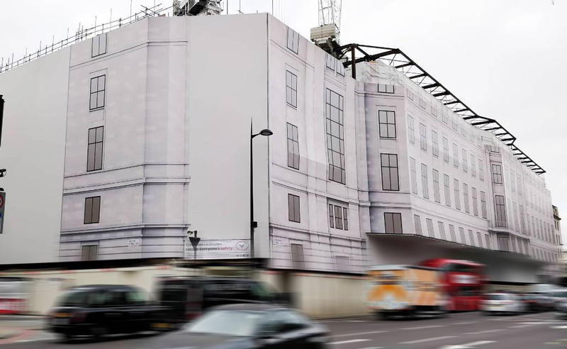 building wrap for grosvenor place