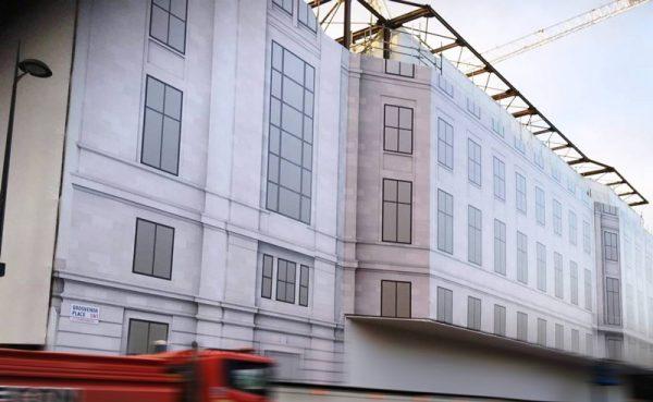 building wrap for grosvenor place