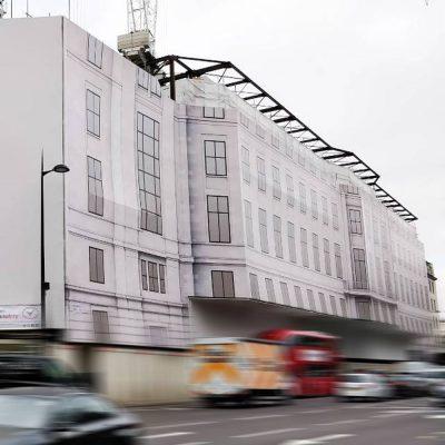 grosvenor place london building wrap