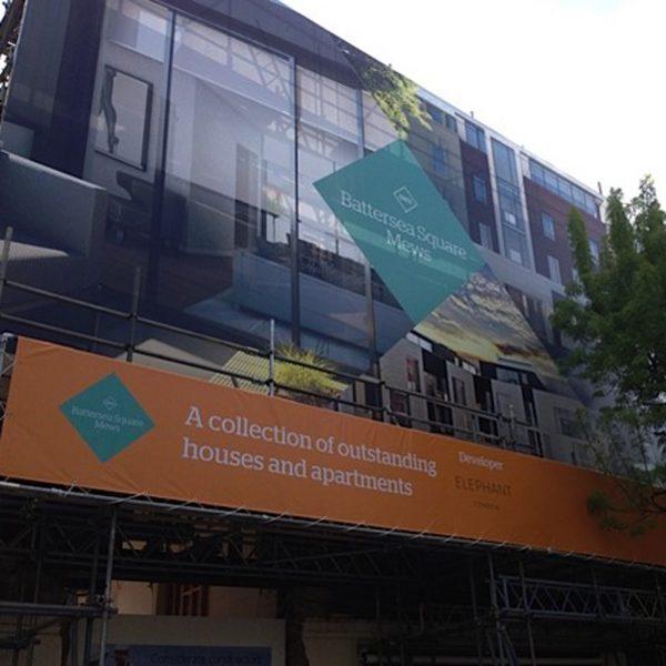 battersea square mews building wrap