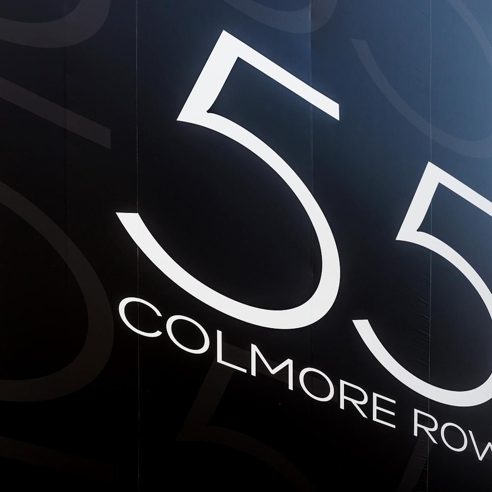 55 colmore road building wrap