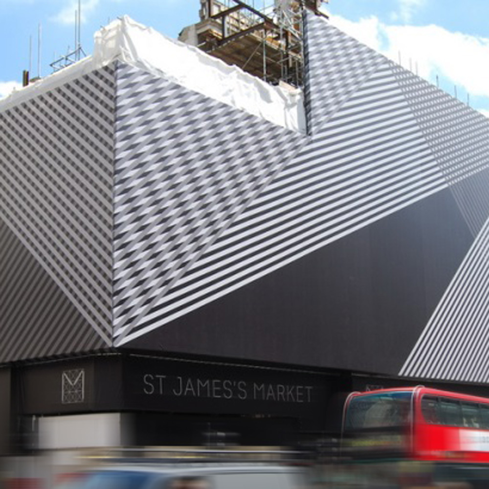building wrap st james market