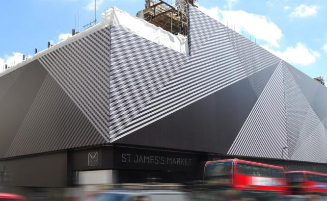 building wrap st james market