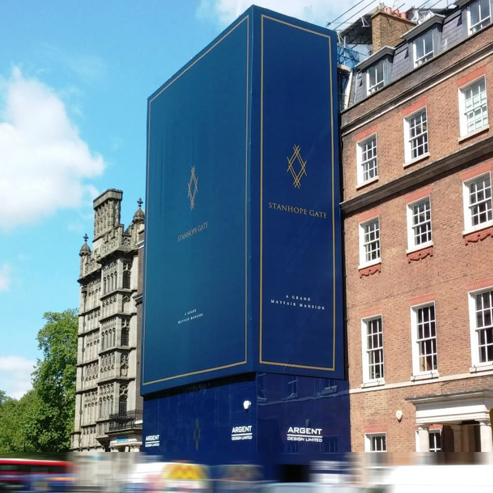 stanhope gate building wrap