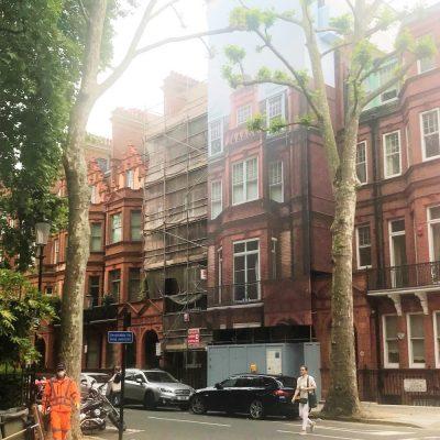 57 Sloane Gardens building wrap