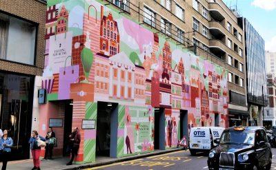 197 - 199 Sloane Street site hoarding graphics