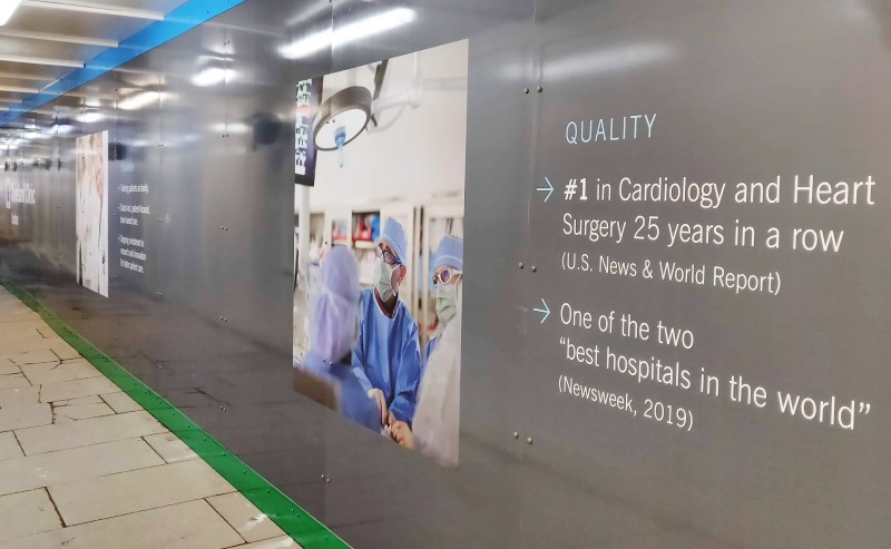 Cleveland Clinic London graphics
