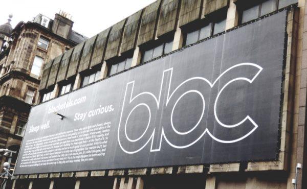 Bloc Hotels Glasgow Building Wrap