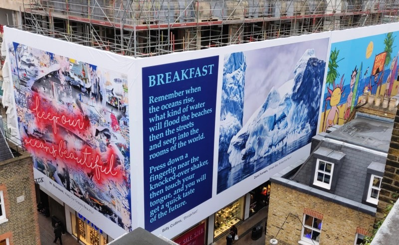 Carnaby Street building wrap