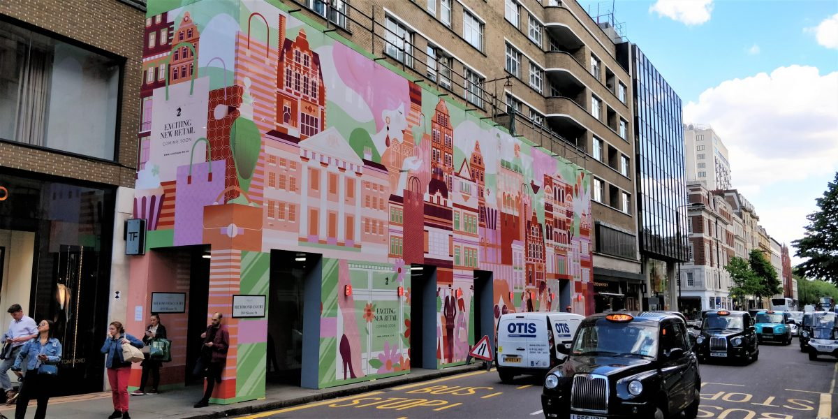 Hoarding Graphics London 8 of the Best