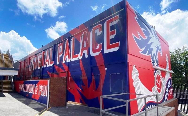Crystal Palace vinyl wrap