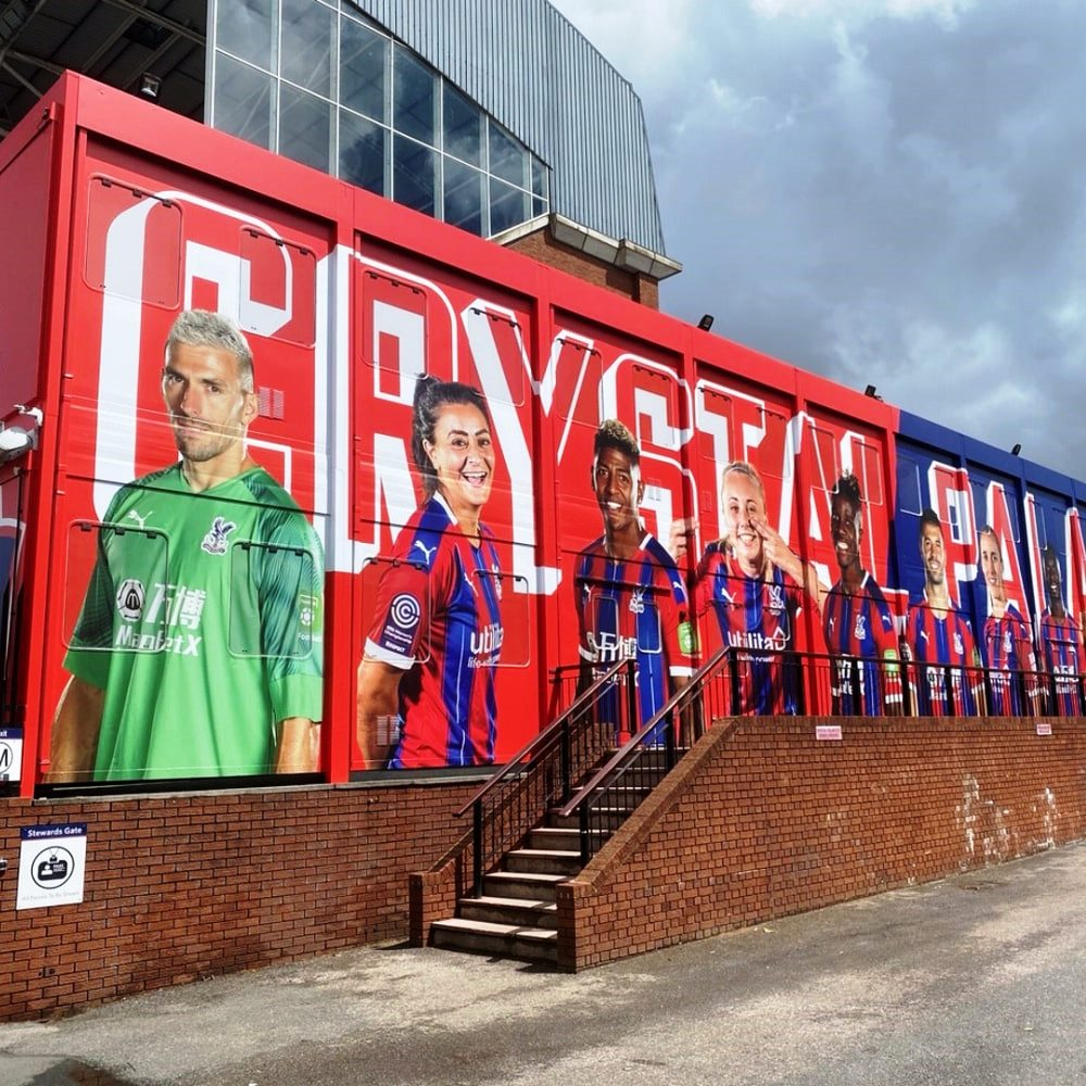 Crystal Palace vinyl wrap