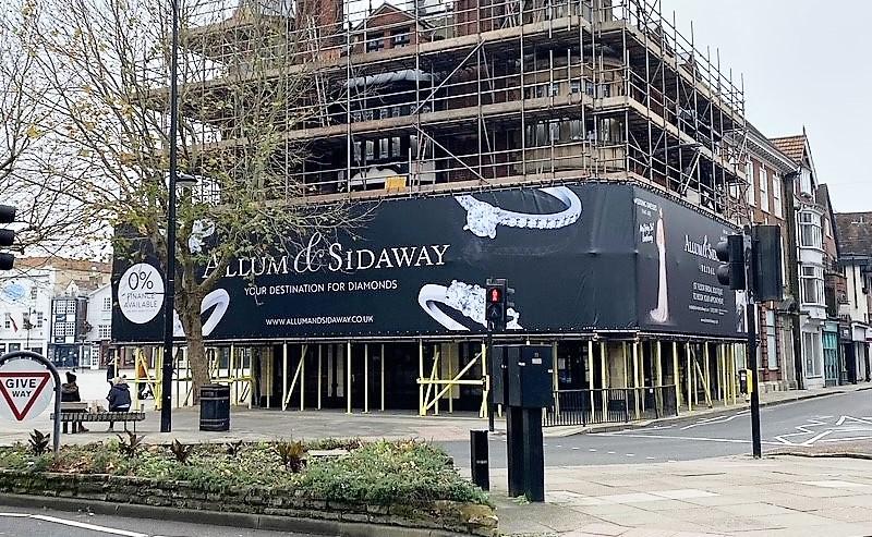 Allum & Sidaway PVC-free building wrap
