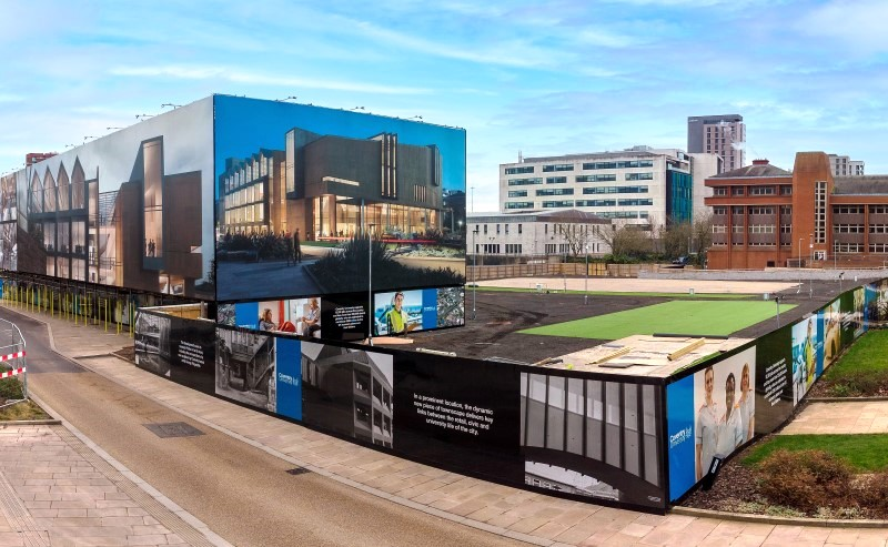 Coventry University building wrap