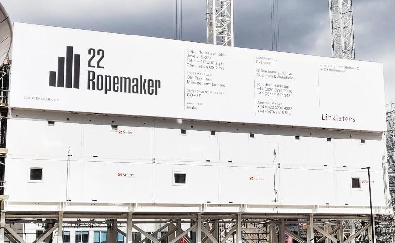 22 Ropemaker cabin wrap